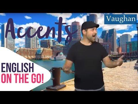 El Acento De Los Americanos De Boston | English On The Go!