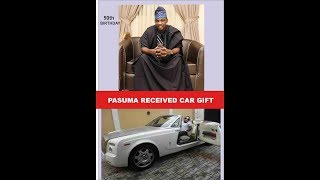 PASUMA RECEIVED  CAR AS A GIFT FROM FANS SUBSCRIBE TO FUJI TV NIGERIA