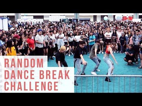 Random Dance Break Challenge KCON LA 2018   Ellen and Brian
