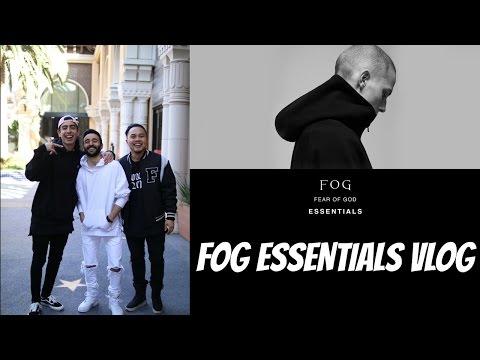 Fear of God FOG x Pacsun Essentials VLOG
