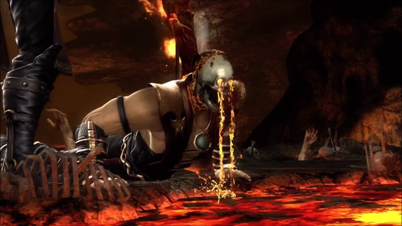 Mortal Kombat 2011 The Stage Fatalities Xbox 360 Youtube