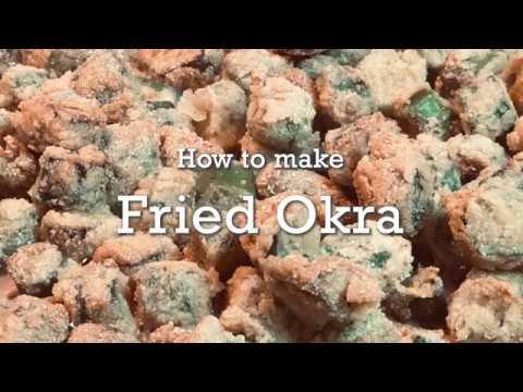 Recipe: How to Make Fried Okra