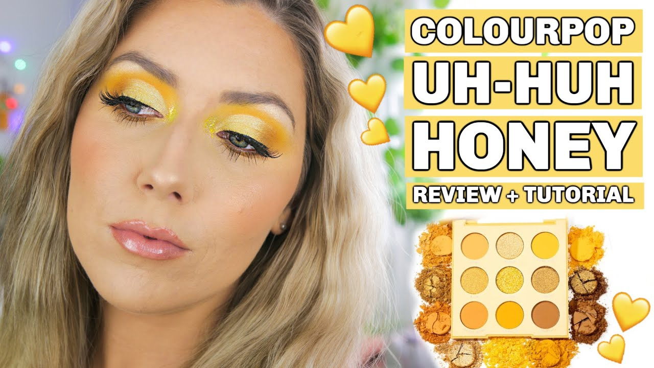 UH - HUH HONEY 🍯 ⭐️ Swatches and a close up of the NEW