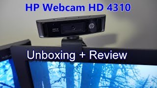 hP HD-4310 webcam Test/Review