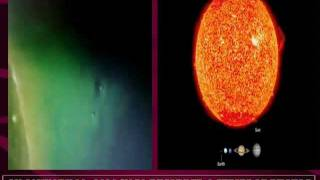 Giant PLANETOID SIZE UFO Spheres Around the Sun from NASA.flv