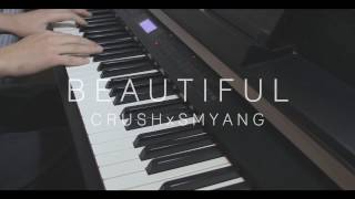 Video [Goblin 도깨비 OST Part 4] Crush (크러쉬) - Beautiful - Piano Cover download MP3, 3GP, MP4, WEBM, AVI, FLV Januari 2018