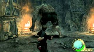 """Resident Evil 4 Gameplay ita Parte 10 ( Pc ) """"El Gigante """""""
