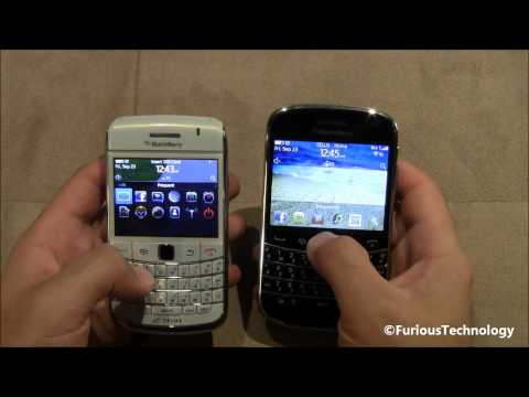 Blackberry Bold 9900 vs Blackberry Bold 9780