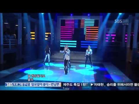 2NE1 - Ugly [110821인기가요]