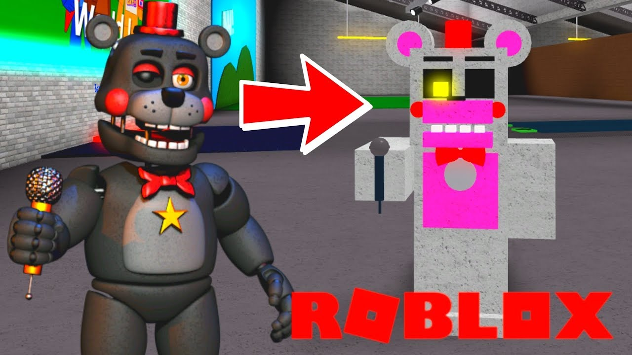 Creating And Becoming Funtime Fnaf 6 Animatronics In Roblox