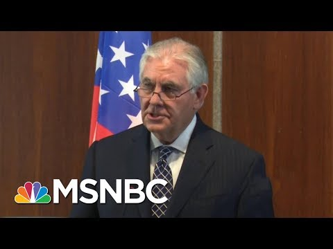 Rex Tillerson Out, Mike Pompeo In As Secretary Of State | Morning Joe | MSNBC