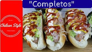 How to make a Hotdog completo
