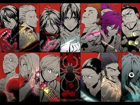 All Phantom Troupe [Genei Ryodan] Members (2020) - YouTube