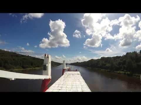 m/v Ocean Trader passing Kiel Canal