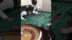 roulette dealing practice