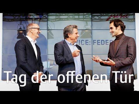 JURA - Tag der offenen Tür 2016 mit Roger Federer