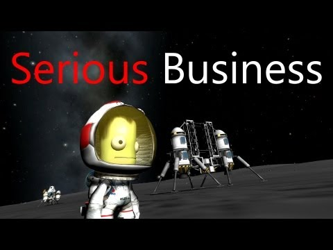 Kerbal Space Program: Serious Business