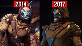 Comparison - Destiny (2014) vs Destiny 2 (2017) GAMEPLAY TRAILERS