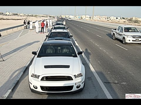 Ford Mustang Car drive organised by Mawater Qatar - 2017 - JBCmotive
