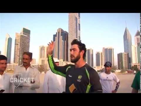 Maxwell Plays Cricket with Dubai Based Pathans!