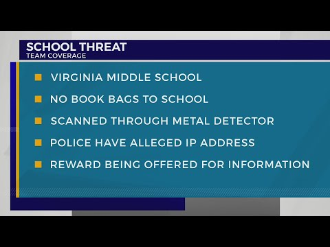 School officials investigating potential threat at Virginia Middle School