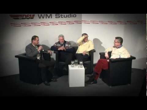DSV WM-Studio: Interview mit Thomas de Maizière, Alfons Hörmann und Thomas Bach (03.03.2012)
