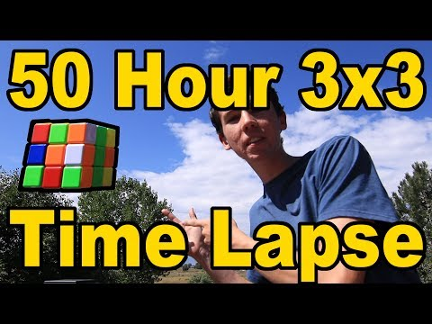 Solving a Rubik's Cube in 180,000 Seconds [180K Subscribers]