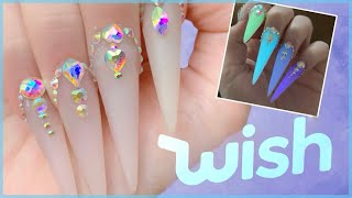 Testing Glow in the Dark Polygel From WISH