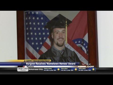 Hometown Heroes Award: Capt. Chris Norgren