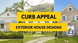 70+ Best Curb Appeal Exterior House Designs in 2018