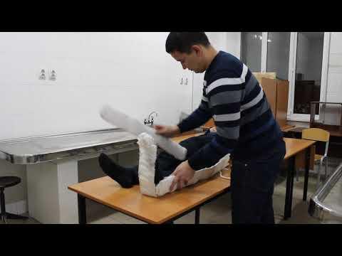 Как наложить шину крамера