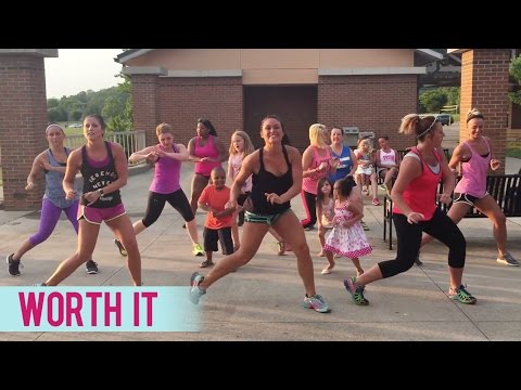 Fifth Harmony - Worth It (Dance Fitness with Jessica)