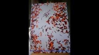 Pintar por numeros. www.decoracionycuadros.com
