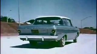 1962 amc rambler classic 2 door sedan promo film no sound