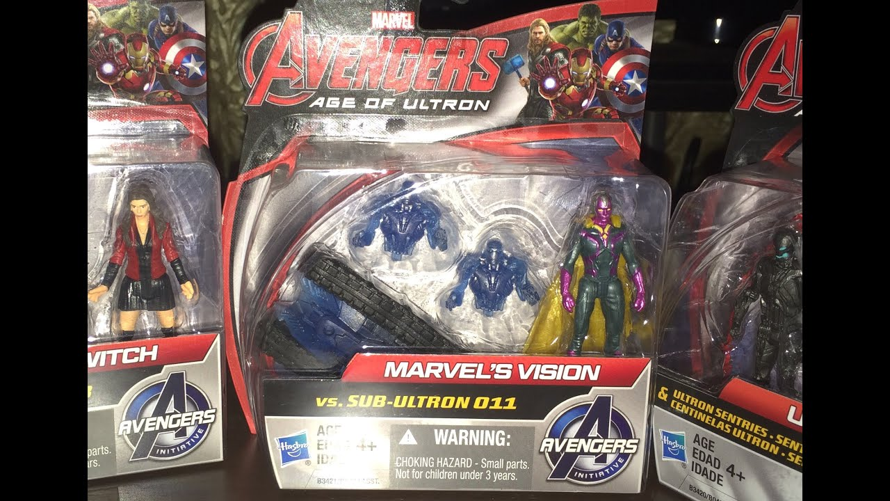 Marvel Avengers Age Of Ultron Iron Man Mark 45 /& Sub Ultron 010 Toy Game Kids