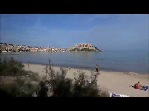 D' Île-Rousse à Calvi en autorail  Amg 800 des chemins de fer de la Corse mercredi 23 octobre 2013