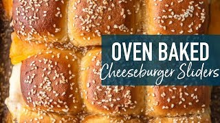 How to Make Baked Cheeseburger Sliders