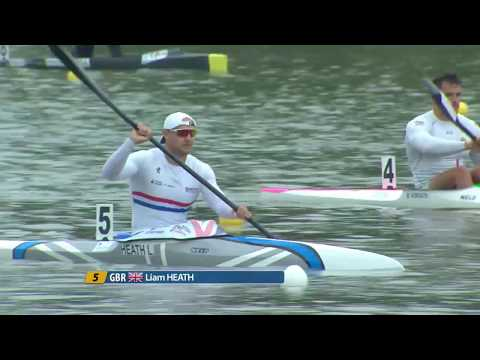K1M 200m Final A - 2017 ECA Canoe Sprint European Championships