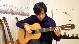 Mariage d'amour (Richard Clayderman) - Guitarist Nguyễn Bảo Chương