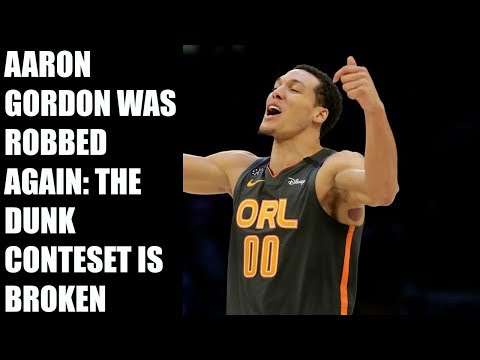 Aaron Gordon was Robbed AGAIN   The Dunk is Broken