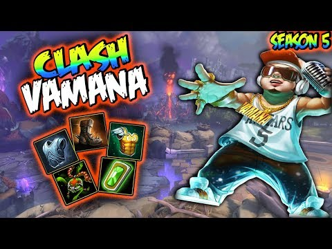 Smite   Vamana Build And Guide - Your Tower Is Not Safe!   Smite Season 5 Gameplay