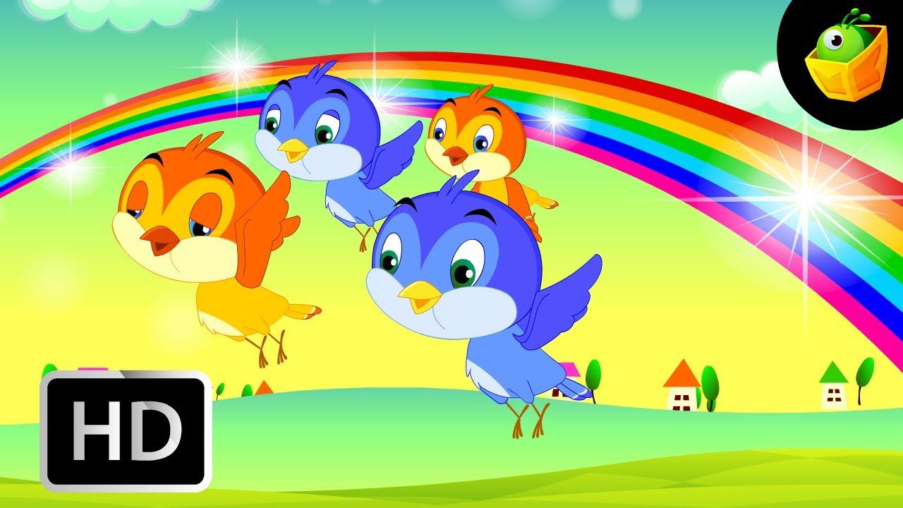 English Rhymes Rhymes For Kids Nursery Songs Free Animated English Rhyming The Rainbow English Nursery Rhymes Cartoonanimated
