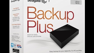 5TB HARD DRIVE SEAGATE BACKUP PLUS LOTS OF SPACE