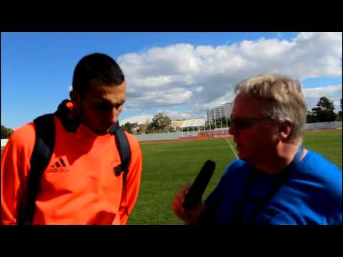 Interview with Youssef Toutouh after the victory against FK Mlada Boleslav in The Atlantic Cup 2015