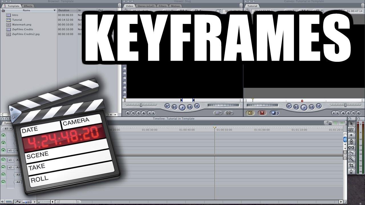 how to add keyframes in final cut pro
