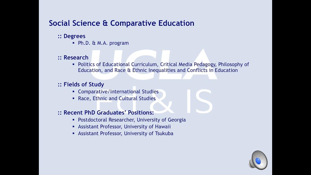 UCLA Graduate School Admissions Requirements – Minimum GPA
