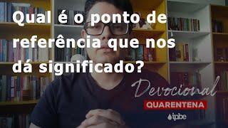 Devocional de Quarentena - 15/06   Anderson Paz