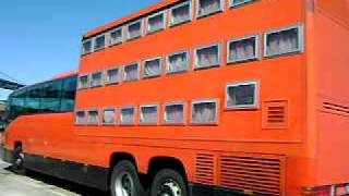 ROTEL TOURS (ROLLING HOTEL) ECCENTRIC MERCEDES BENZ BUS