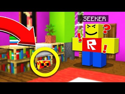 WORLDS BEST HIDING SPOT! | ROBLOX HIDE & SEEK! - Minecraft Mods