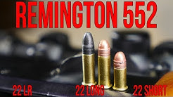 Remington 552 Speedmaster | .22LR, .22 Long, and .22 Short All In One Gun